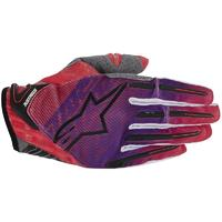 Alpinestars Charger Motocross guantes 2014 Rojo L