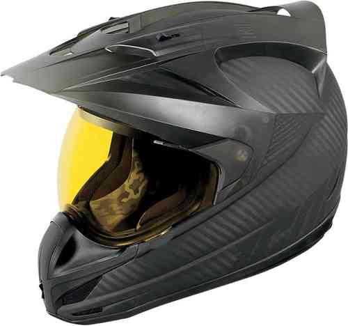 Icon Variant Ghost Carbon Casco Negro XS