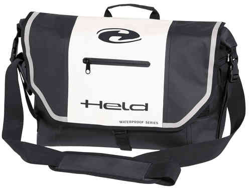 Held Messenger-Bag Negro Blanco