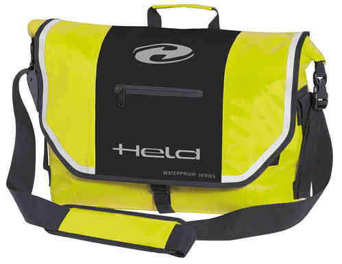 Held Messenger-Bag Negro Amarillo