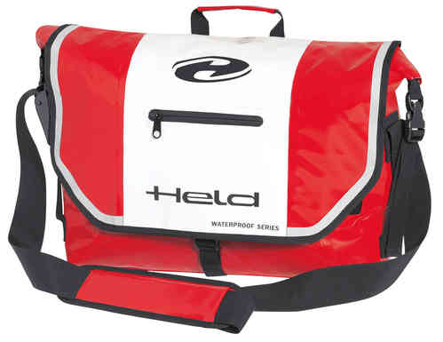 Held Messenger-Bag Blanco Rojo