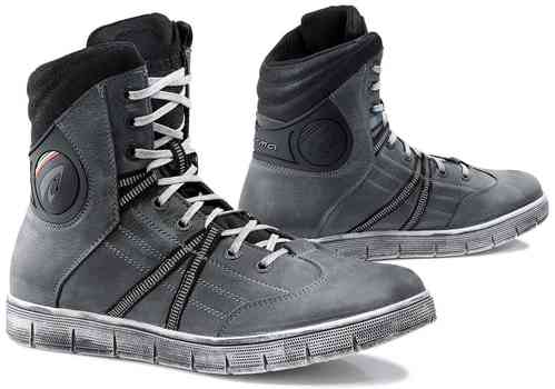 Forma Cooper Zapatos impermeables moto Gris 37