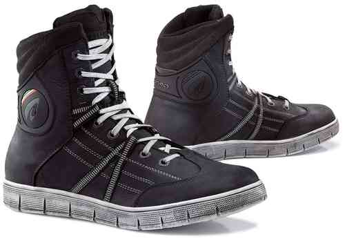 Forma Cooper Zapatos impermeables moto Negro 36