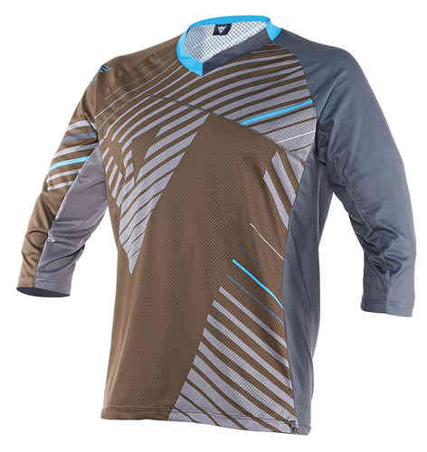 Dainese Flow Tec  3/4 Azul Marrón 2XL