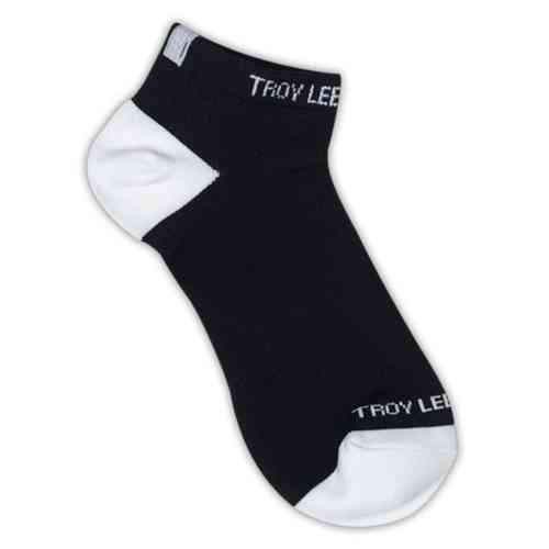 Troy Lee Designs Ace Performance Ankle Socks 2 Pack Negro 39 40 41 42 43