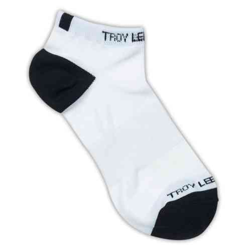 Troy Lee Designs Ace Performance Ankle Socks 2 Pack Blanco 39 40 41 42 43