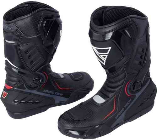 Modeka Speed Tech Motorcycle Boots Black 45