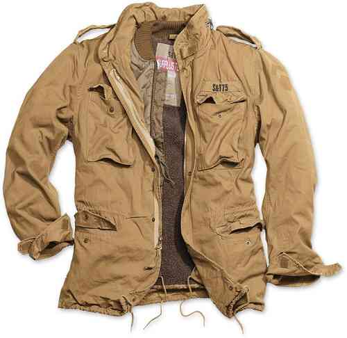 Surplus Regiment M65 Chaqueta Beige 2XL