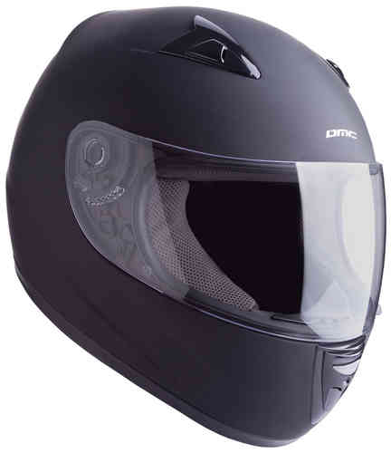 DMC MV-8 Plain Casco Negro 2XL