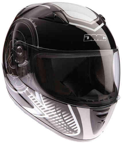 DMC MV-8 City Casco Negro Blanco S