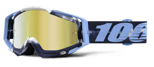100% Racecraft Extra Motocross Goggles Blue One Size