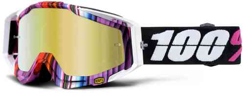 100% Racecraft Extra Motocross Goggles Multicolored One Size