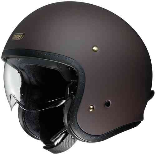 Shoei J.O Casco Jet Marrón 2XL