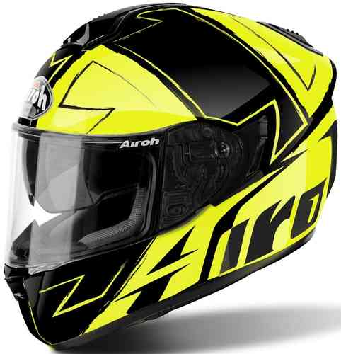 Airoh ST 701 Way Casco Negro Amarillo 2XL