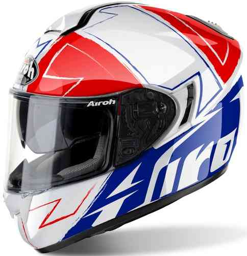 Airoh ST 701 Way Casco Blanco Rojo Azul 2XL