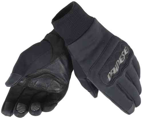 Image of Dainese Anemos Windstopper Motorcycle Gloves Black 2XL