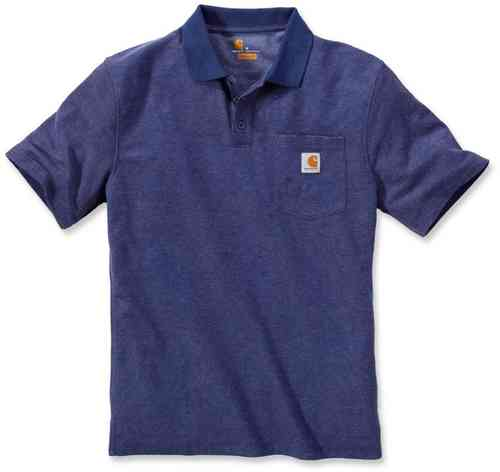 Carhartt Contractors Work Pocket Camisa de polo Azul 2XL