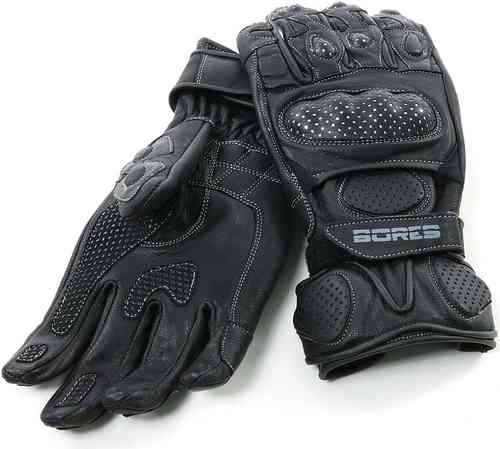 Bores Dark Black Guantes Negro 2XL