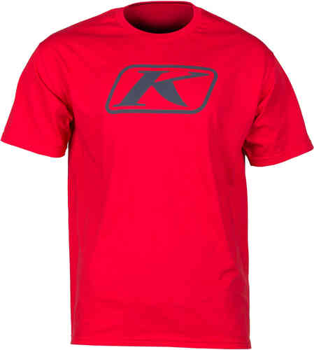 Klim Icon T-shirt Rojo 2XL
