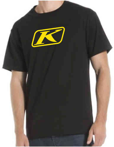 Klim Icon T-shirt Negro 2XL