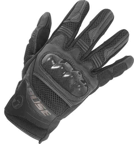 Büse Safe Ride Guantes Negro 3XL