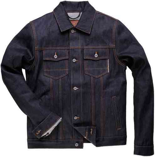 Rokker Denim Jacket Raw Azul 2XL