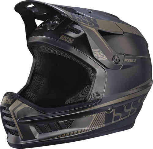 IXS XACT Casco descenso Negro XS