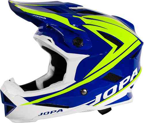 Jopa Flash Casco de BMX Negro Amarillo L