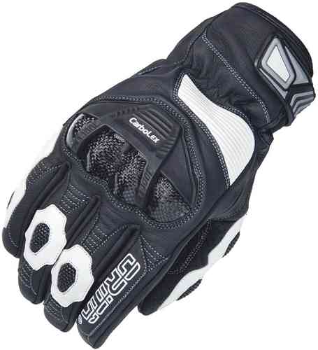 Orina Catch Gloves Black White S