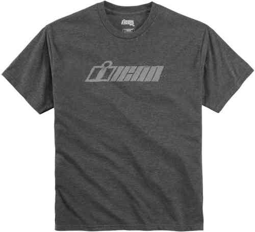 Icon Single Stack T-shirt Gris S