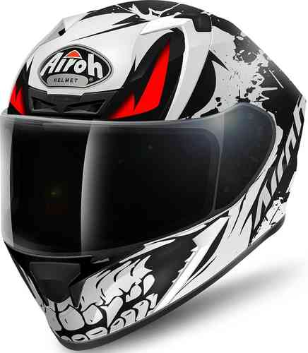 Image of Airoh Valor Bone Helmet Black White S