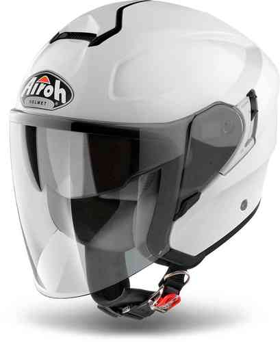Airoh Hunter Casco Jet Blanco XL