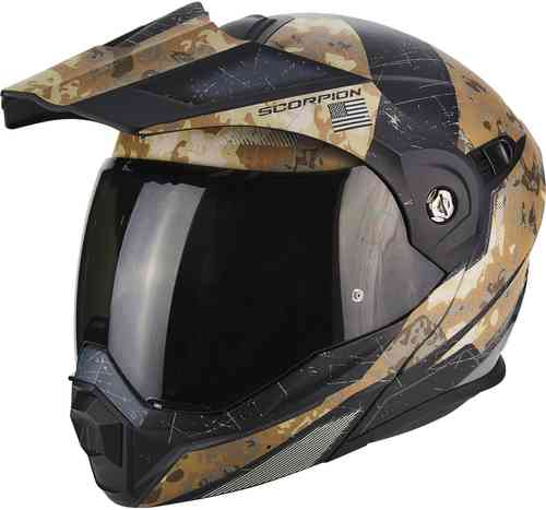 Scorpion ADX-1 Battleflage Enduro Casco Beige S