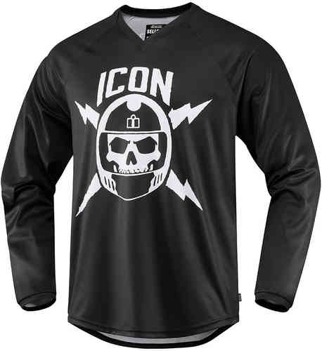 Icon Sellout Jersey Negro Blanco S