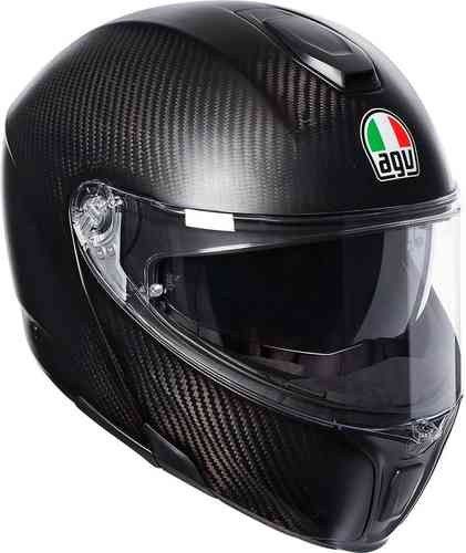 AGV Sportmodular Carbon Matt Casco Carbono 2XL