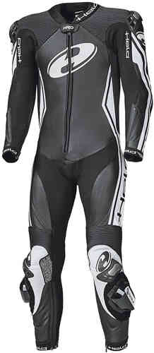 Held Full Speed APS One Piece Motorcycle Leather Suit Black White 54