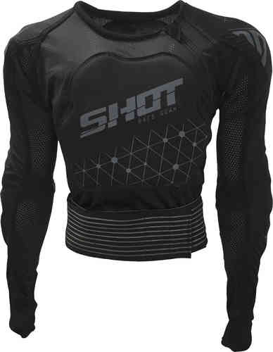 Shot Airlight Chaleco protector Negro 2XL
