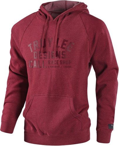 Troy Lee Designs 18 Podium Sudadera con capucha Rojo S