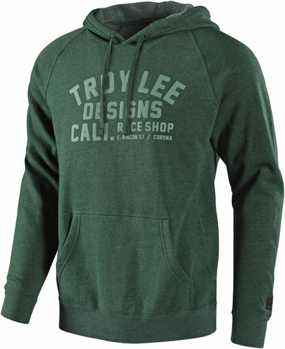 Troy Lee Designs 18 Podium Sudadera con capucha Verde XL