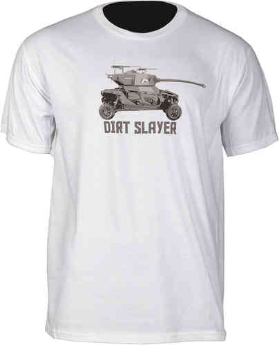 Klim Dirt Slayer T-shirt Blanco 2XL
