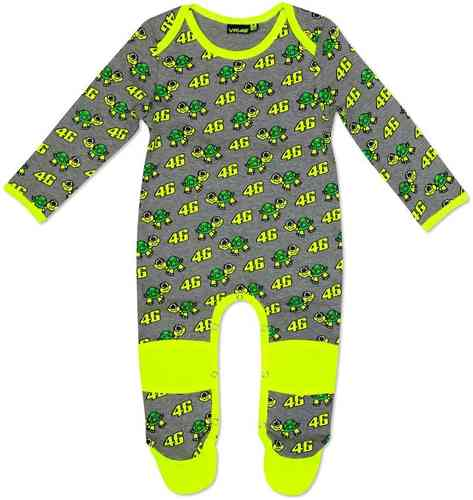 VR46 Baby Turtle Overall General Gris Amarillo 36