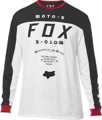 FOX Fctry LS Airline Camiseta Blanco L
