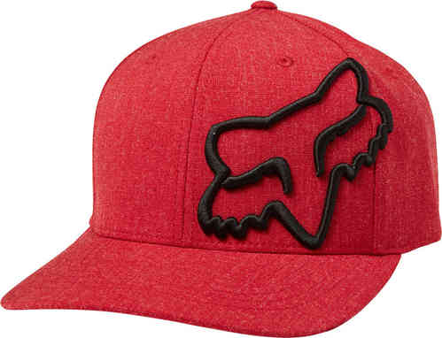 FOX Clouded Flexfit Cap Negro Rojo L XL