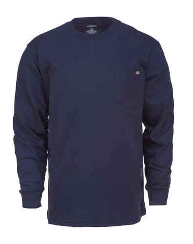 Dickies Long Sleeve Camiseta Azul M