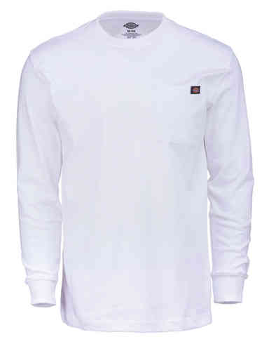Dickies Long Sleeve Camiseta Blanco L
