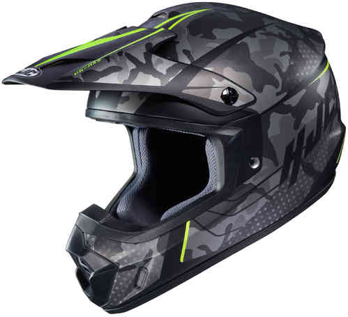 HJC CS-MX II Sapir Casco de Motocross Negro Amarillo 2XL