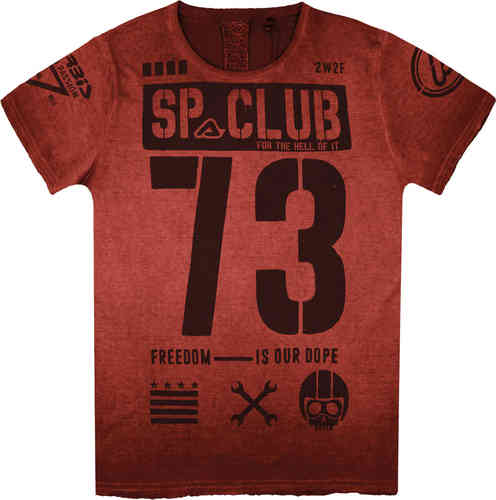 Acerbis Freedom SP Club Camiseta Rojo 2XL