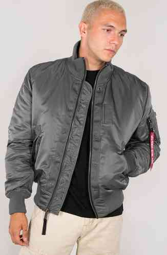 Alpha Industies Top Gun Chaqueta Gris S