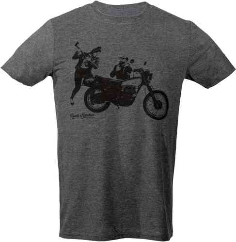 Rusty Stitches Charlie T-shirt Gris 2XL