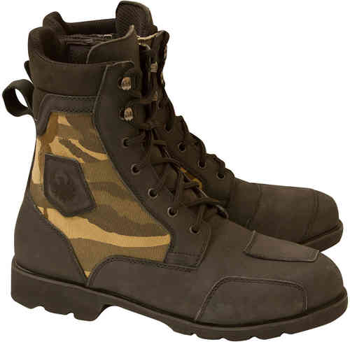 Merlin G24 Borough Camo Botas de moto Negro 41